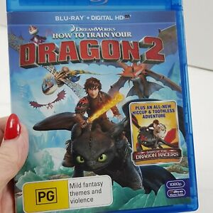 Dreamworks How To Train Your Dragon 2 Blu-ray