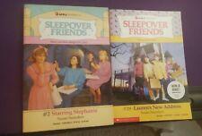 Sleepover Friends Books Lot of 2 Susan Saunders Vintage Paperback