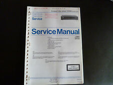 ORIGINAL SERVICE MANUAL MARANTZ compact disc player CD 583