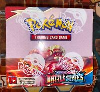 Pokemon TCG Sword and Shield - Battle Styles Booster Box Factory Sealed