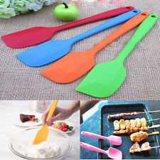 1Pcs Useful Cake Cream Mixing Butter Batter Spatula Scraper Silicone Baking Tool