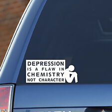 Depression Is A Flaw In Chemistry, Not Character,Mental, Health, Mind, Awareness