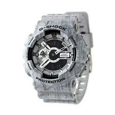 Casio G-shock Mens Wrist Watch Ga110sl-8a Ga110sl-8acr Analogue Digital Grey