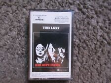 """THIN LIZZY """"BAD REPUTATION"""" 1977 MERCURY EX/EX YELLOW PAPER LABELS OOP CASSETTE!"""