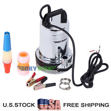 DC24V Farm & Ranch Solar Submersible Water Pump,Stainless Steel,120W,32.8FT Lift
