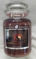 Goose Creek Candle COZY HOME Large 2-Wick Jar Scented Brown 24 oz Wax