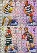 2008 AFL Select Champions- SILVER HOLOFOIL Parallel Team Set - GEELONG CATS