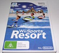 Wii Sports Resort Nintendo Wii PAL *Complete* Wii U Compatible