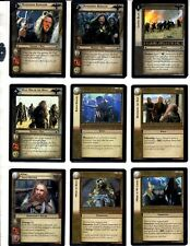 LORD OF THE RINGS LoTR BATTLE OF HELMS DEEP 128 TRADING CARDS PLUS MORE CCG/TCG