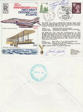 (68905) GB / Canada Cover C60 FLOWN / SIGNED 1st Atlantic Flight BFPS 1979