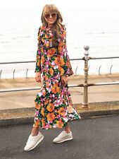 BNWT TOPSHOP Heavy Petal Print Chuck Dress  size UK 14 blogger favourite