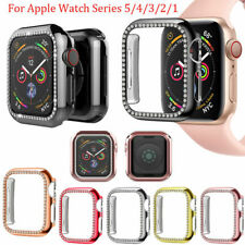 Apple Watch Series 5 4 3 2 1 Bling Plastic Bumper iWatch Protector Case Cover
