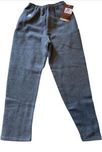 NWT Russell Athletic Youth Dri-Power Open Bottom Sweatpants Charcoal Sz. Medium