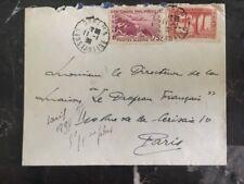 1939 Constantine French Algeria To Paris France