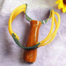 Outdoor Slingshot Sling Alloy Handle Hunting Powerful Game