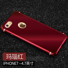 Ginmic Aluminum Bumper Metal Frame + Acrylic Cover Case For iPhone 7 plus 6S 6+