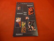 Playstation 2 PS2 Greatest of the Hits Issue 1  Product Catalog Spiderman Scooby