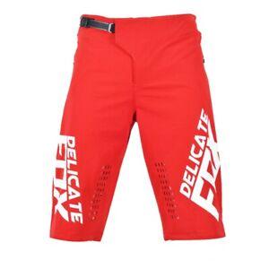 Delicate Fox Defend Shorts MTB Downhill Motorcycle Short Pants