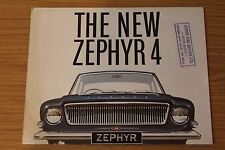 Ford Zephyr 4 Sales Folder 1963 Ref No. A3067/2/63 D