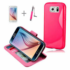 Patterned Mobile Phone Cases, Covers & Skins for Samsung Galaxy S6 with Clip