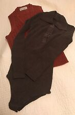 Vintage LOUBELLA Extendables Top and PENNACO Clothes Hose One-Piece Snap (Brown)