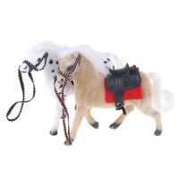 1x Simulation plastic horse dollhouse mini children doll animal model toy g S Nd
