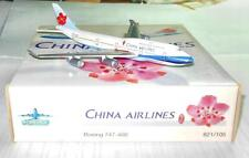 SCHABAK CHINA AIRLINES B74-400 #821/105 MADE IN GERMANY 1:500 SCALE AIRPLANE
