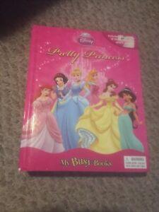 Disney Pretty Princess - My Busy Book - Includes Book, Playmat, & 12 Figurines