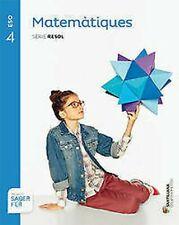 4SEC Matem Catal S Resol Saber de Fer ED16. New Book Of Text