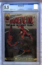 Daredevil #16 CGC 5.5 1st John Romita Spider-Man Art First App Masked Marauder
