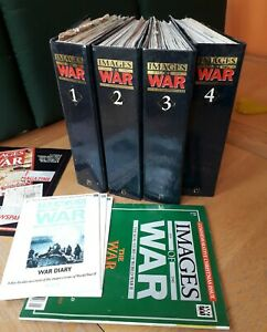 IMAGES OF WAR 1939 -1945  MARSHALL CAVENDISH   MAGAZINE COLLECTION IN FOLDERS.