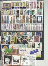 REPUBBLICA  -  MNH**  ANNATA  COMPLETA 2002  82  VALORI + 1 FOG,+ 1LIB.   NUOVA