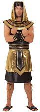 Homme 6 pièces égyptien King Anubis + Sandales historique Fancy Dress Costume Outfit