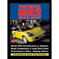 Toyota MR2 2000-2007 Road Test Portfolio book paper car