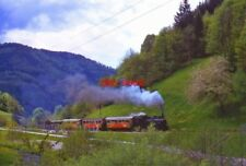 PHOTO  ZELL AND TODTNAU IN THE BLACK FOREST RAILWAY BAHN MAY1967