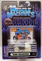 Muscle Machines 1932 Ford Roadster RAW CHASE w/Clear Tires 1/64 Scale