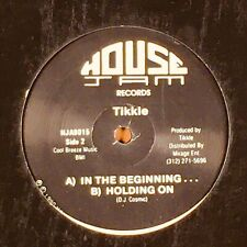 """Tikkle - Outer Limits / In the Beginning. Deep House 12"""" Single Record."""