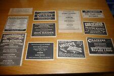 More details for nwobhm  11  x original  press cutting gig adverts 1979/80 iron maiden samson