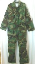 Coveralls M Green Brown Camouflage Hunting Long Sleeve Equa Industries VGUC