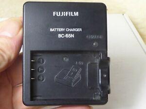 Genuine Original FUJIFILM BC-65N Charger NP-95 FinePix X100 S X100T,X70 X30 X-S1