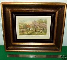 CURRIER & IVES ----RE-STRIKE LITHOGRAPH BY S.Z. LUCAS