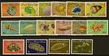 COCOS/KEELING IS :1985 Shells/Molluscs definitive set SG 135-50 unmounted mint