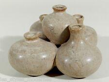 60er Jahre Keramik Vase ° 5fach VASEN-OBJEKT ° Plastik ° Unikat