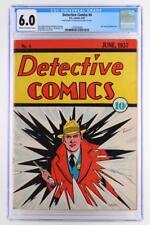 Detective Comics #4 - Cgc 6.0 Fn -Dc 1937- Pre-Batman - Rare early issue!