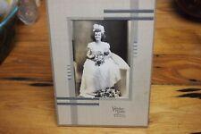 "Vintage Black and White Photo – 40's – Wedding Photo – Girl –4 ¾"" x 3"""