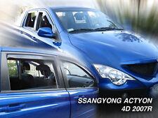 Climair Wind Deflectors SsangYong Actyon Sports 4 Doors 07