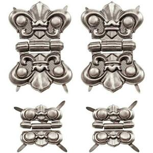 Tim Holtz Idea-ology Metal Hinges with Brads - TH93075