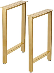 Gold Leg for Table Desk Leg Heavy Duty Furniture Legs for Coffee Or Computer of