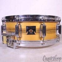 "Tama 14x5""Inlay Superstar Mastercraft Artwood AW455 Snare Drum Vintage 80s Camco"