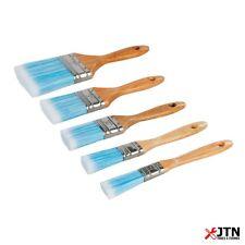 Silverline 282408 Synthetic Bristle Paint Brush Set 5 Piece
